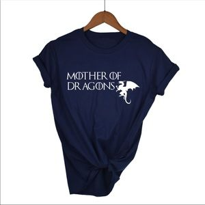 """Game of thrones women T-Shirt """"mother of dragons"""""""